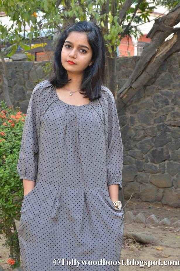 Swathi Reddy Stills At Movie Audio Launch In Mini Black Dress