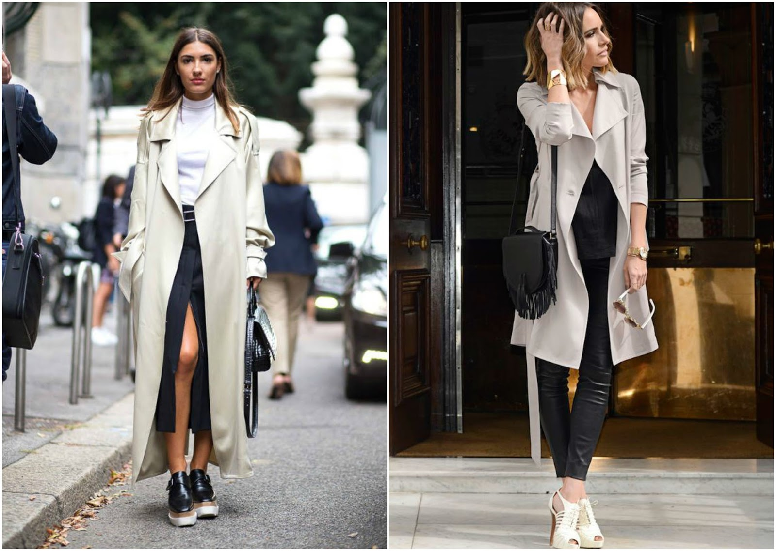 how to style a trench coat smart casual look
