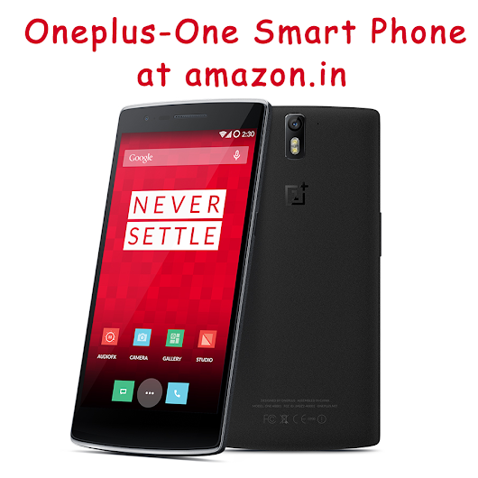 Amazon Offering Exclusive Sale For Oneplus-One Smartphone « IT technologies