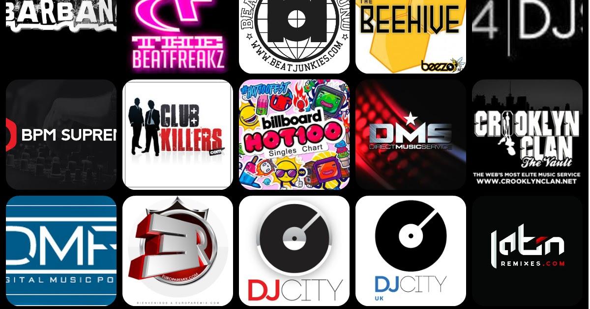Music Pool For DJs new mp3, mp4 video hd, acapellas, DJ