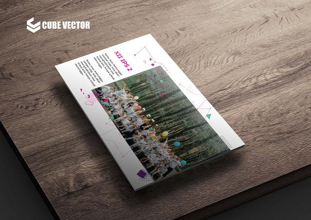 Download Desain Yearsbook atau Buku Tahunan Siswa SMA Gratis