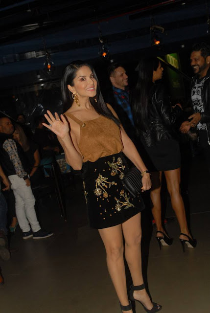 Sunny Leone Stills At Jalwa Restaurant Launch