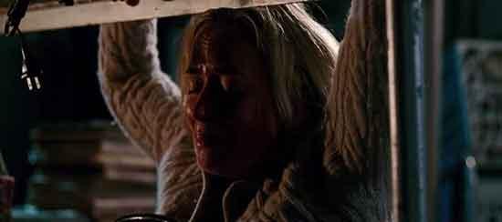 Emily Blunt en una escena de Un Lugar Tranquilo