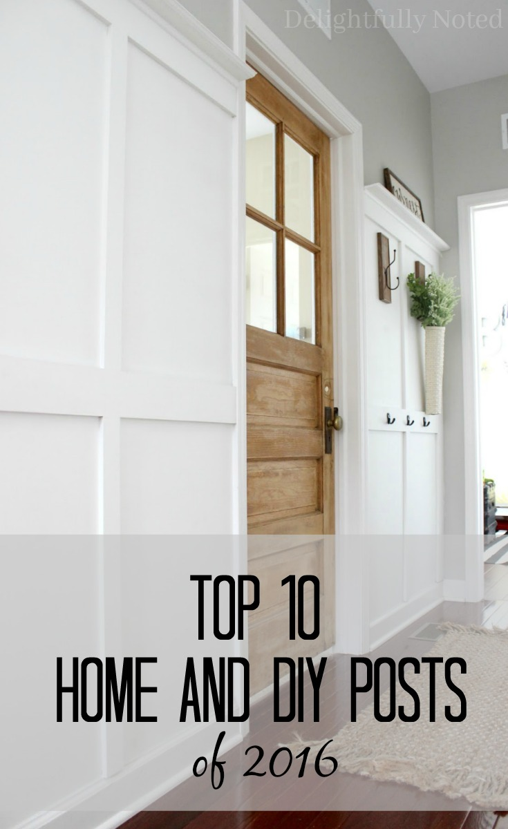 top 10 home and diy posts