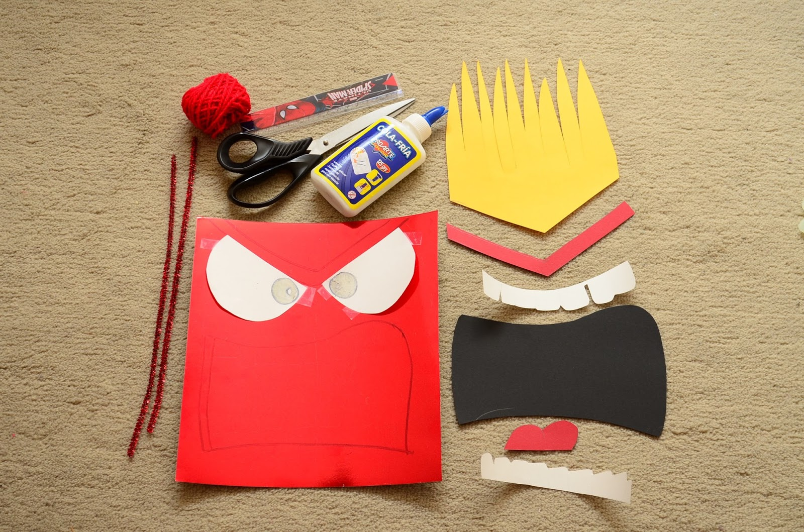 The Practical Mom: DIY Inside Out Halloween Costumes
