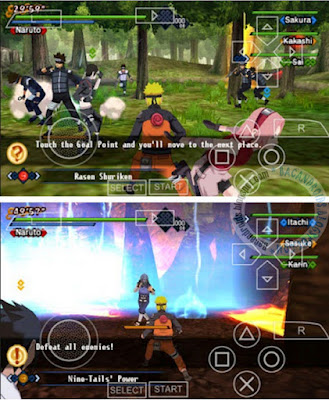 Game Naruto Shippuden Kizuna Drive ISO CSO For PSP Android