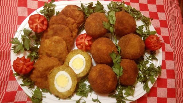 البطاطس المحشية بالبيض والبوريك وطريقة التحضير