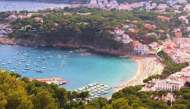 bästa stranden för vandring i Europa- Costa Brava