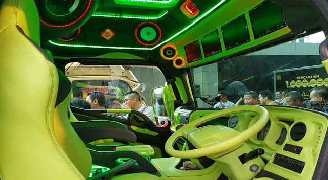 modifikasi audio mobil truk