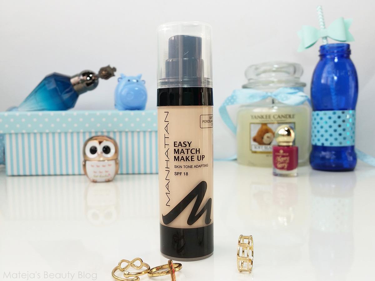 Manhattan Easy Match Makeup 30 Review - Makeup Now