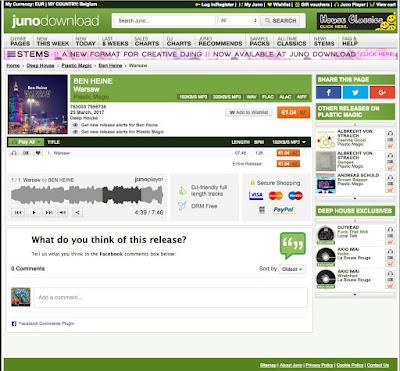 Warsaw - Junodownload - Ben Heine Music