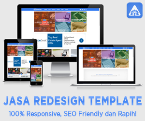 Jasa Redesign Template By Arik Adnyana