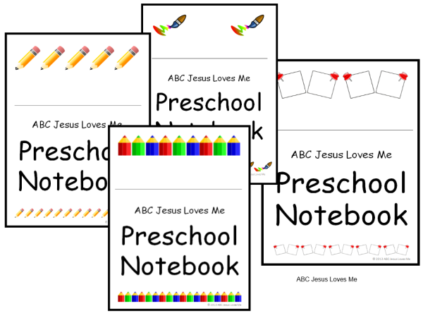 Creating a Preschool Notebook | Our Out-of-Sync Life