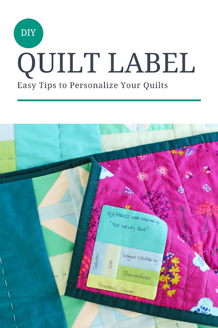 DIY Quilt Label | Easy Tips of Quilt Label Success | Shannon Fraser Designs | Modern Quilting |