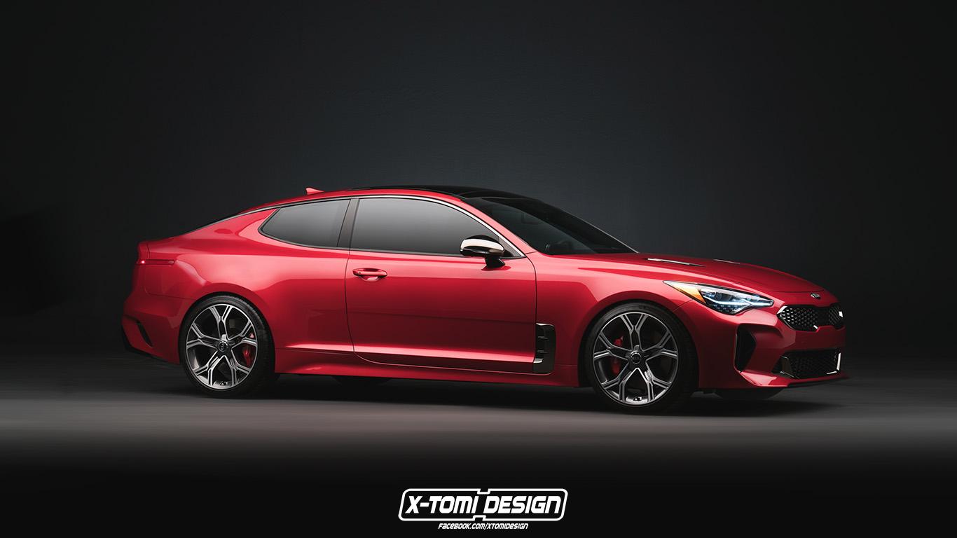 Kia  GT concept Kia%2BStinger%2BCoupe%2BGT2