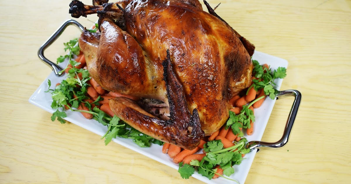 Citrus Oven Roasted Turkey ~ Easy Cooking