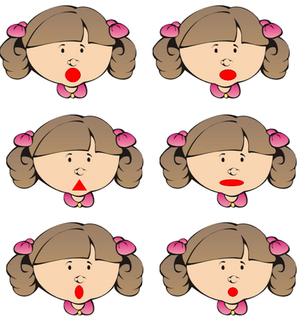 Картинка символы гласных звуков