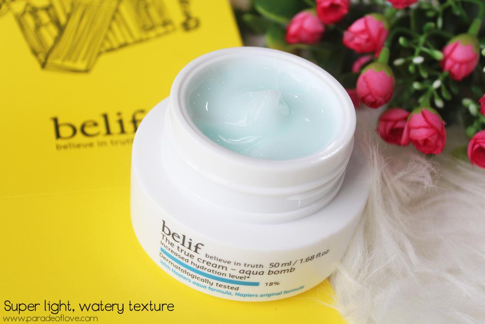 The True Cream Moisturizing Bomb by belif #7