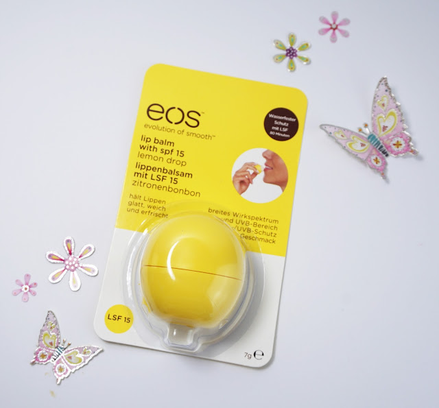 EOS - Lip Balm (Lemon Drop mit LSF 15)