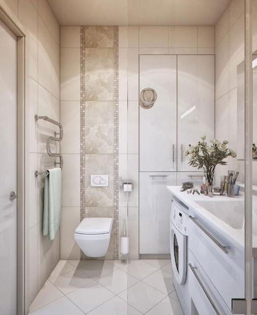 desain kamar mandi minimalis 2x2 klasik