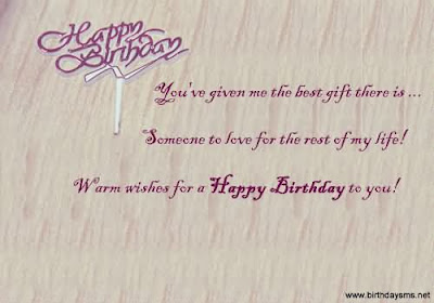 Happy Birthday  wishes quotes for father-in-law: you're give me the best gift there is