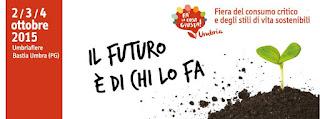 """Giovanni Moro presenta il suo libro """"Contro il no profit"""" all' Umbria-fiere di Bastia dal 2 al 4 ottobre 2015"""