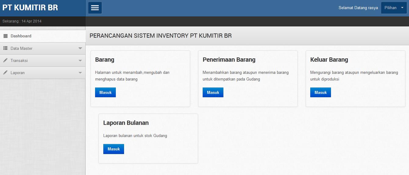 gudang - Aplikasi Inventory Barang Dengan Php Dan Mysql