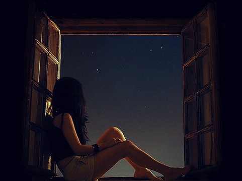 Whenever you miss me look at the stars
