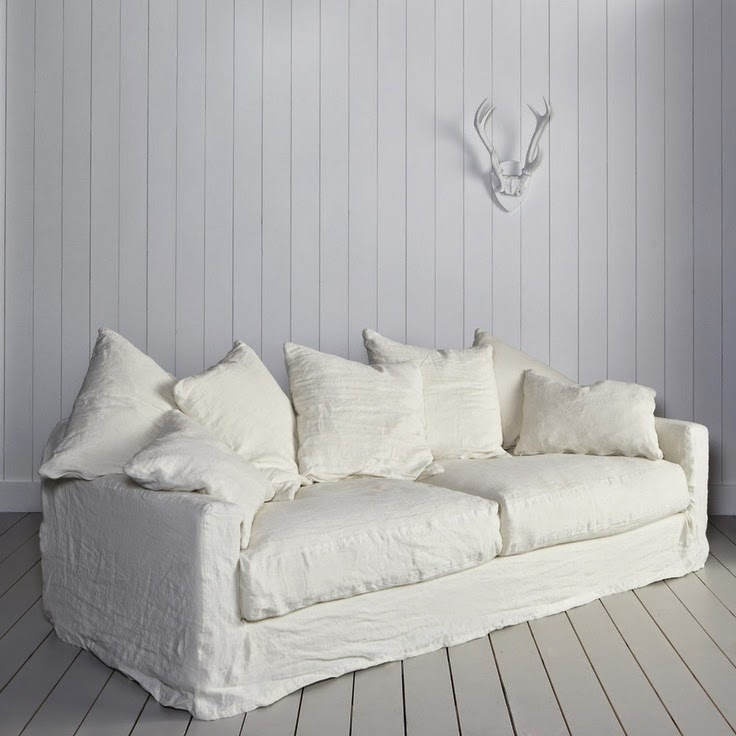 Mchant Studio Blog: the white linen sofa i need
