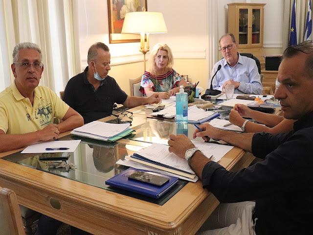 Παρατείνεται για ένα χρόνο η θητεία των θεματικών αντιπεριφερειαρχών Πελοποννήσου