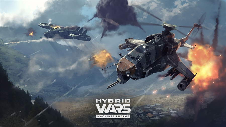 Hybrid Wars PC Game Free Download Poster