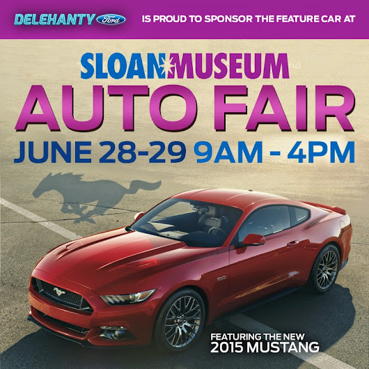 All-New 2015 Ford Mustang Coming to 42nd Sloan Museum Auto Fair!