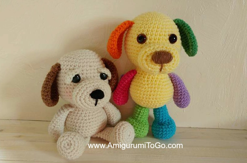 Amigurumi I To Go : Little Bigfoot Puppy ~ Amigurumi To Go