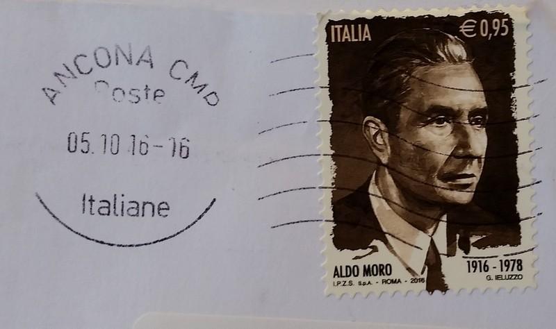 francobollo Aldo Moro (1916 - 1978)