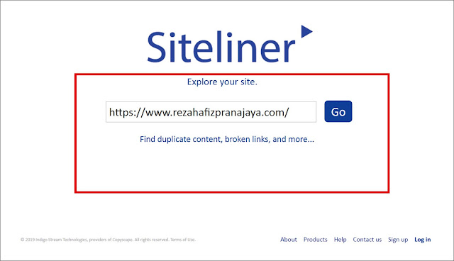 Site Liner Broken Link Checker Tool