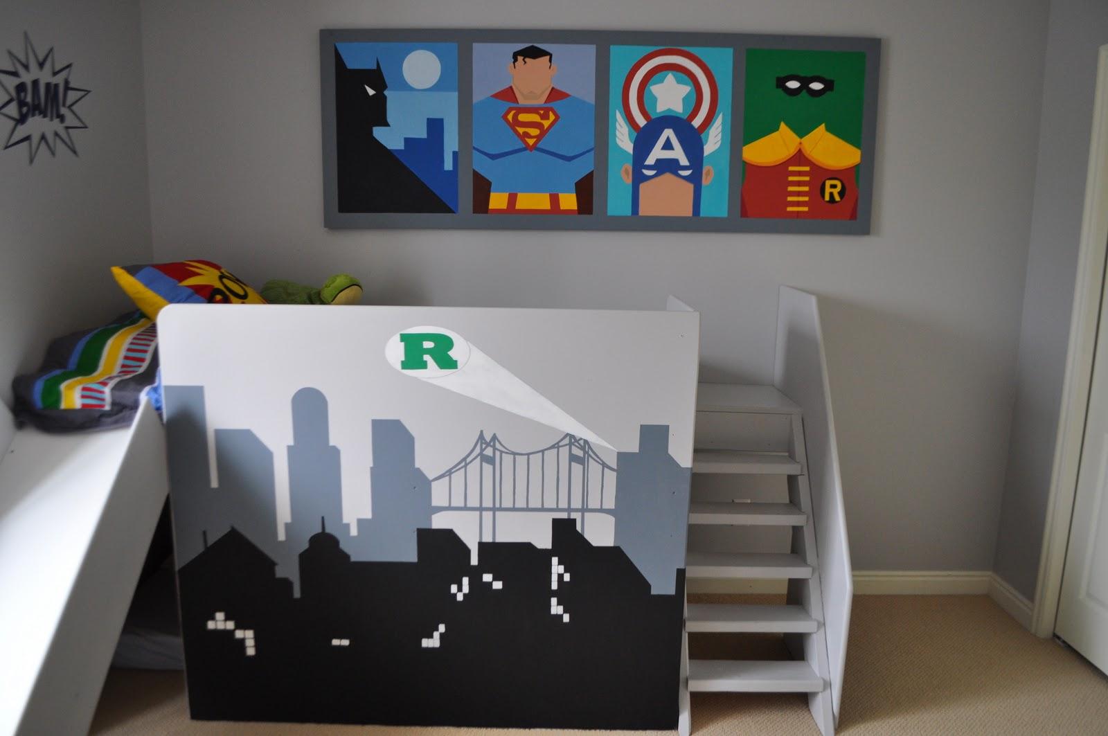 marvel for hero beds and ideas boy cool superhero of unique bedroom on comic super superheroes wallpaper boys size toddler medium kids room
