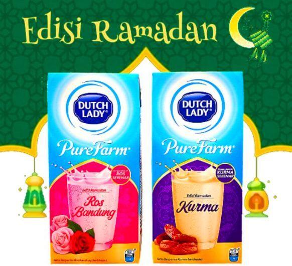 Susu dutcg lady purefarm edisi ramadhan