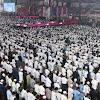 Mirip di Mekah, Inilah Suasana Sholat Tahajud dan Shubuh Berjamaah Jelang Kampanye Prabowo Sandi