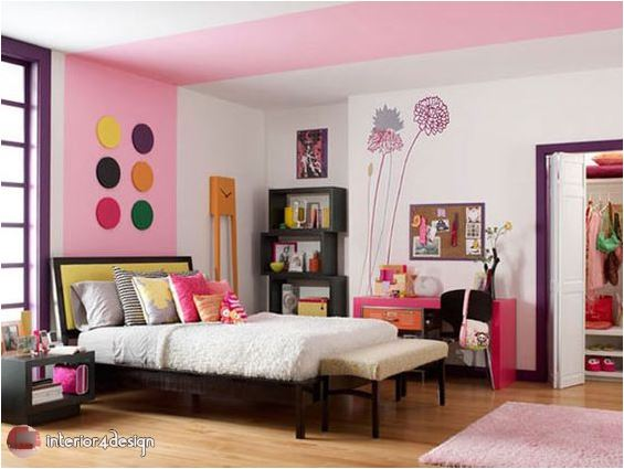 Colorful Teenagers Bedrooms 6