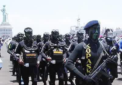 gambar Kopaska TNI-AL Indonesia