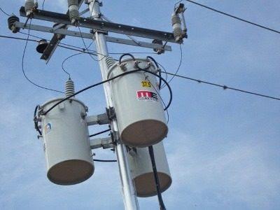 Instalaciones eléctricas residenciales - transformador tipo poste
