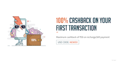 Freecharge100% Cashback for New Users(Freecharge Loot Tricks)
