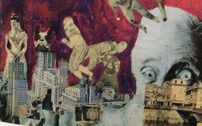 Pauline Boty, Untitled (Cinzano) detail