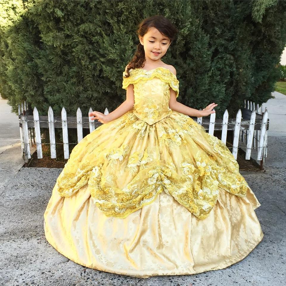 Child Wedding Dress Costume 36 Cute Your Smile Of The