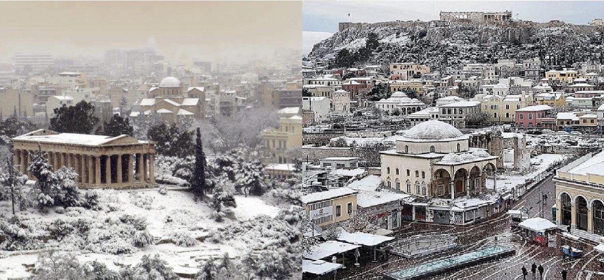 Εθνικό Αστεροσκοπείο: «Σε 12 ώρες ψυχρό κύμα με χιόνια θα σαρώσει την Ελλάδα»