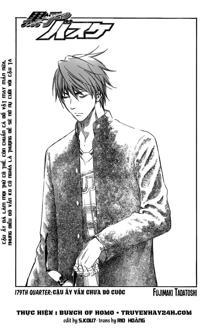 Kuroko No Basket chap 179 trang 3