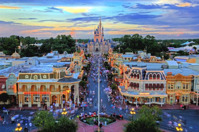Parques Temáticos da Disney