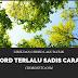 Chord Terlalu Sadis Carami - Hobasta Trio (D)
