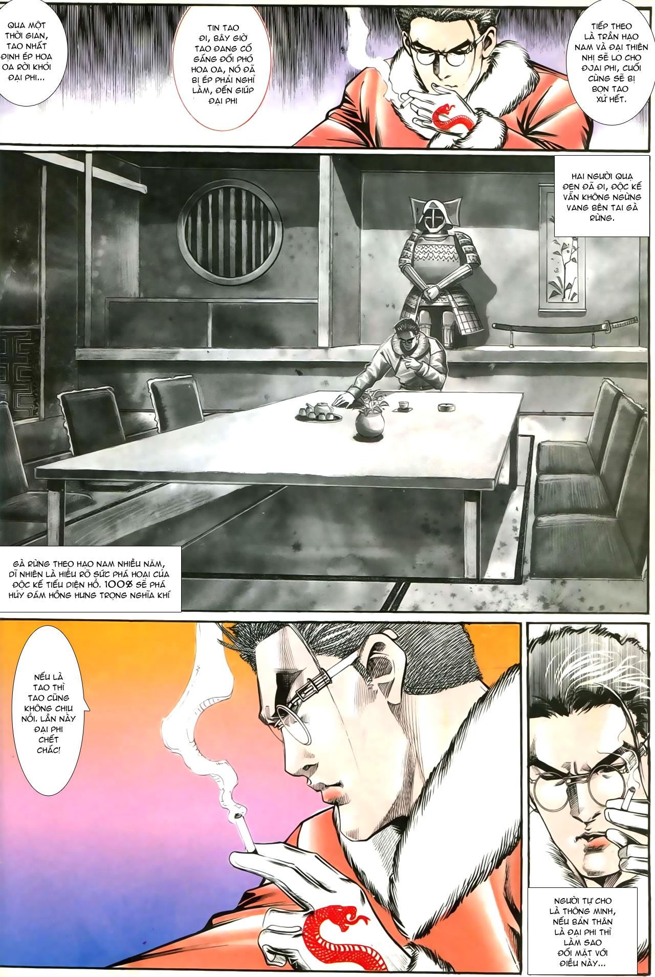 Người Trong Giang Hồ chapter 207: nhật ký đau lòng trang 21