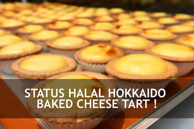 STATUS HALAL HOKKAIDO BAKED CHEESE TART !